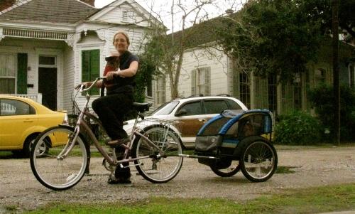 the glam granny bike