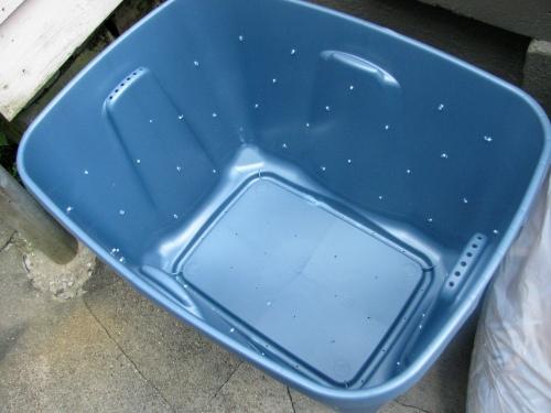 the drilled bin