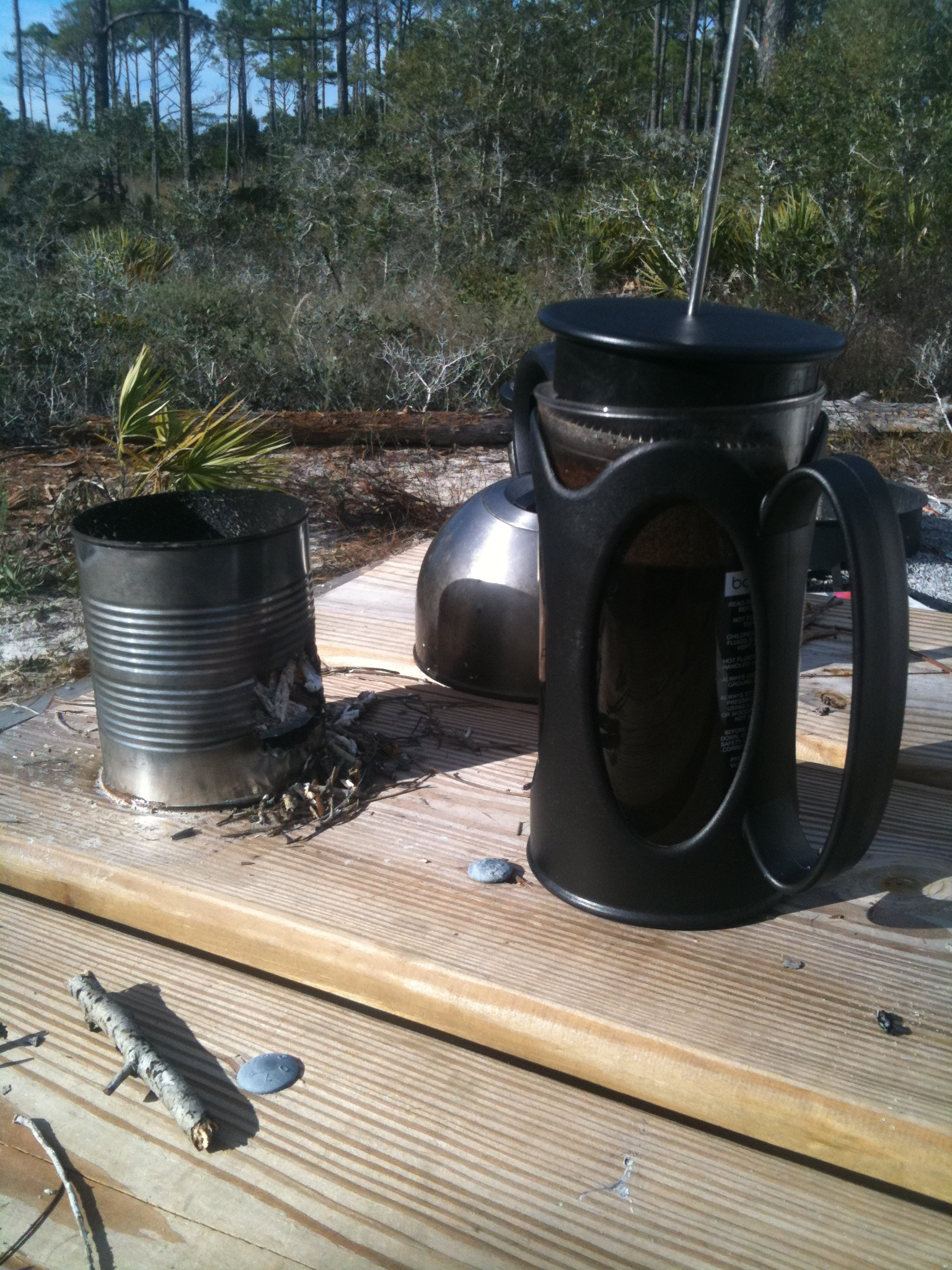 15 minute diy camp stove apron stringz for Diy camp stove