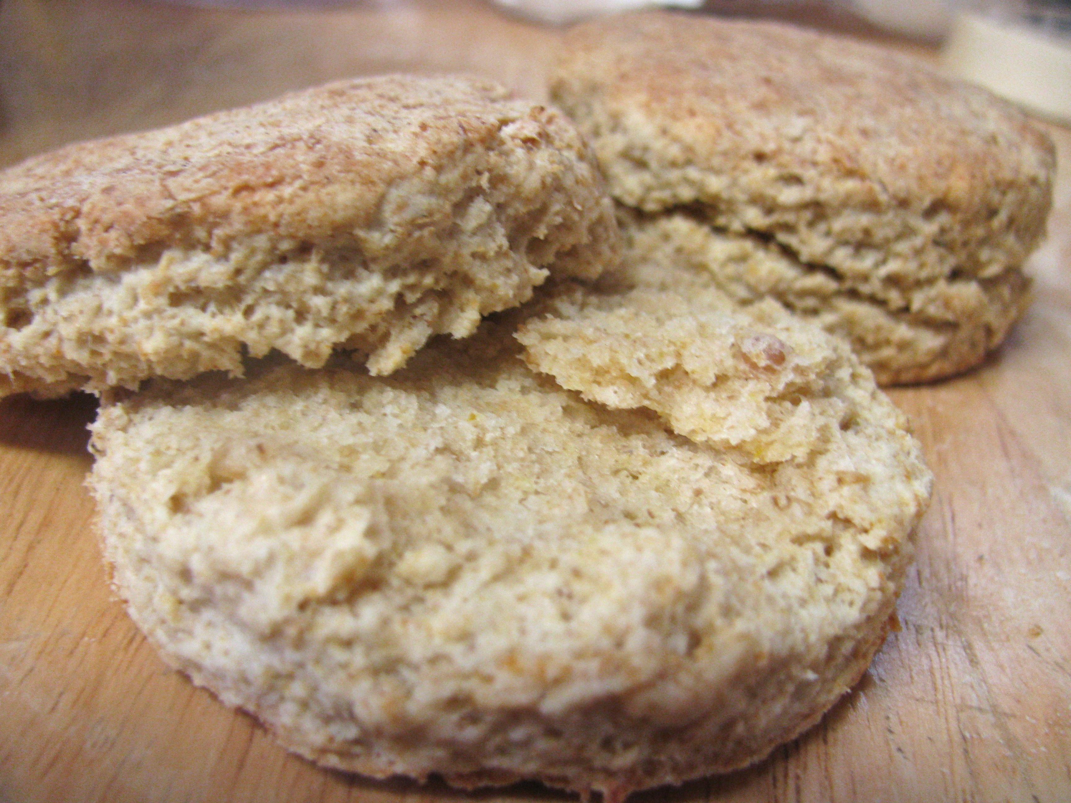 Perfect Whole Grain Biscuits | Apron Stringz